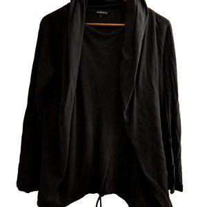 Ann Demeulemeester Hooded Long Sleeve Jersey